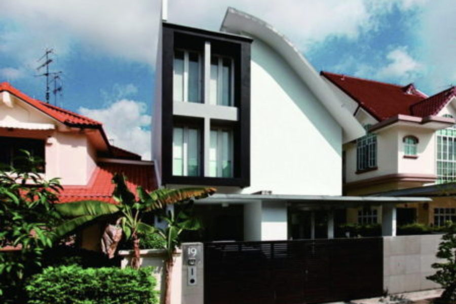 Semi-detached House at Burnfoot Terrace, Singapore
